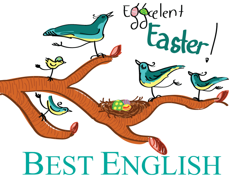 Eggcelent Easter from Best English