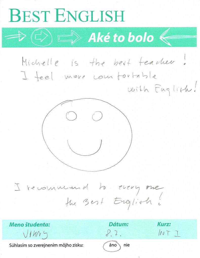 Johny kurz anglického jazyka Pokročilá 1