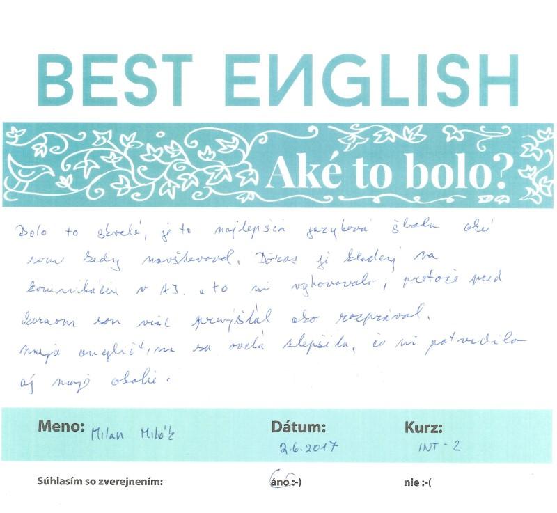 Milan – najlepšia jazyková škola