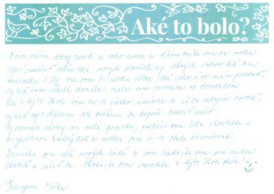 Marianna – bola som v kontakte s angličtinou každý deň