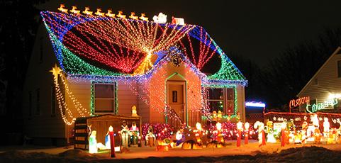 Christmas Lights in USA / Vianočné osvetlenie v USA