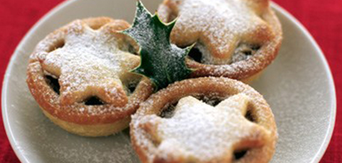 Mince Pie and Christmas Pudding
