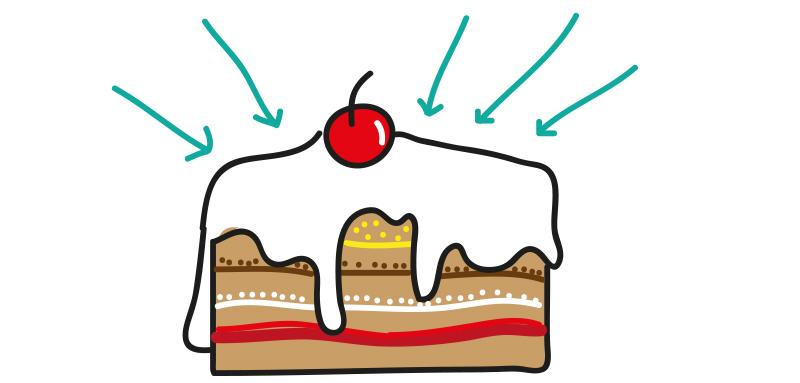Čerešnička na torte