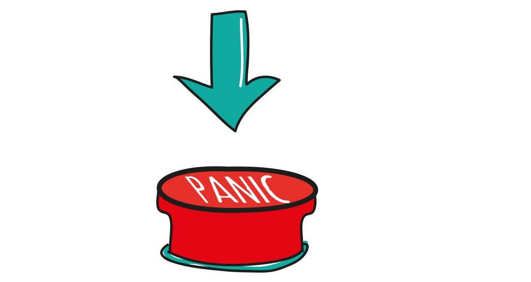 Anglické frázy – Podľahnúť panike