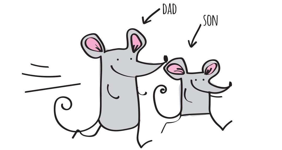 Anglické frázy – Máme to v rodine