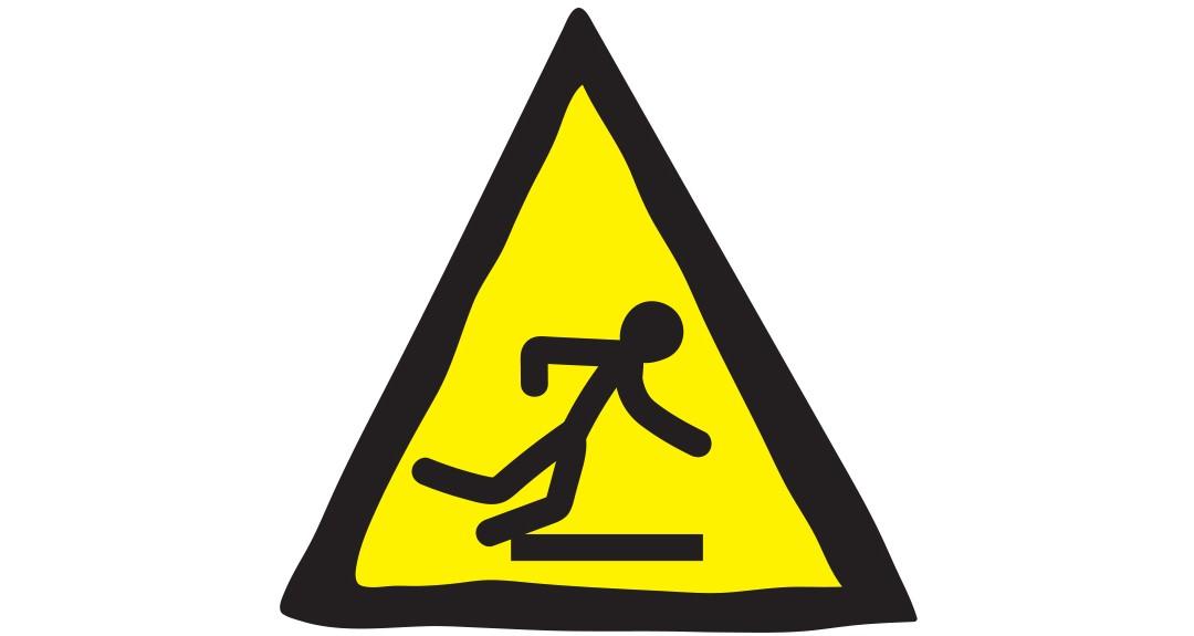 Anglické frázy - Pozor, schod!