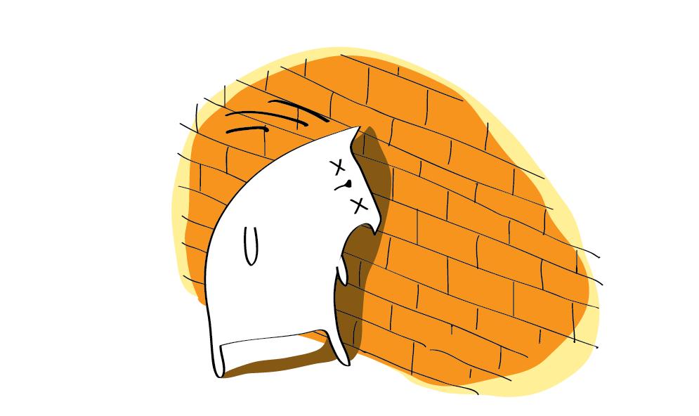 Anglické frázy – Hádzať hrach na stenu
