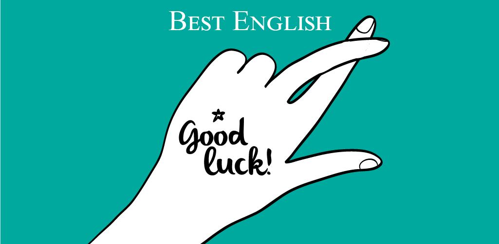 Anglické frázy – Držať palce