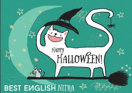 Halloween, Slovná zásoba, zvyky, slovíčka, Best English Nitra