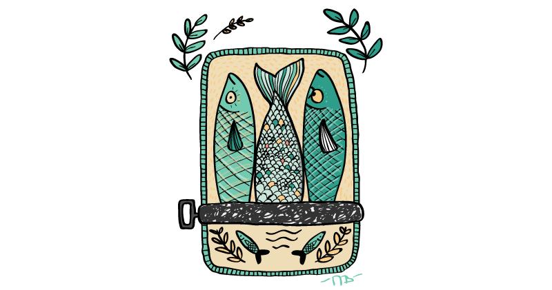 Anglické frázy – Ako sardinky v oleji
