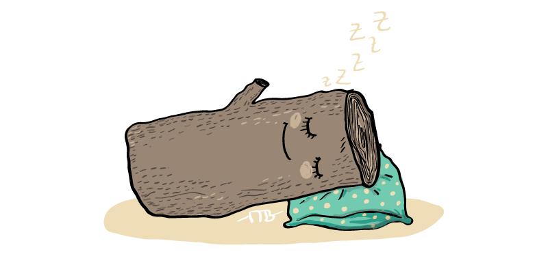 Anglické frázy – Spať ako drevo