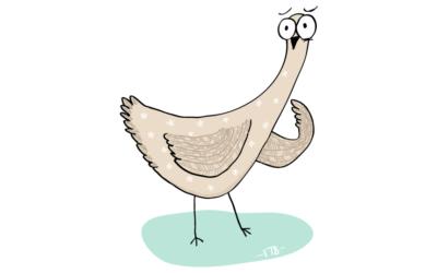 Anglické frázy – Chicken out