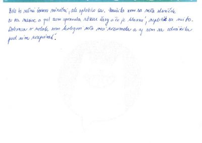 """Miška: ,,Naučila som sa veľa slovíčok."""""""