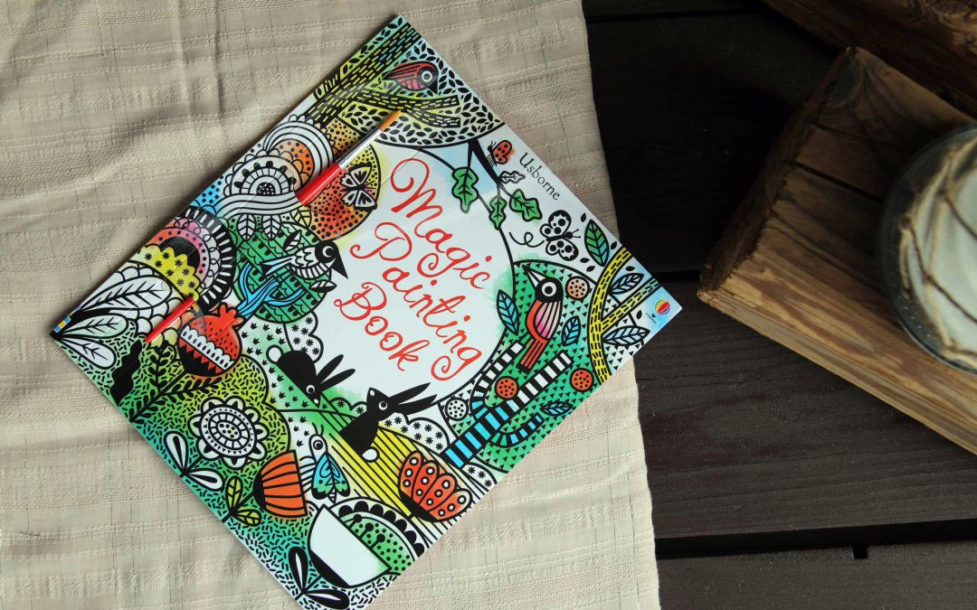 Magic Painting Book / Kniha Čarovného Maľovania