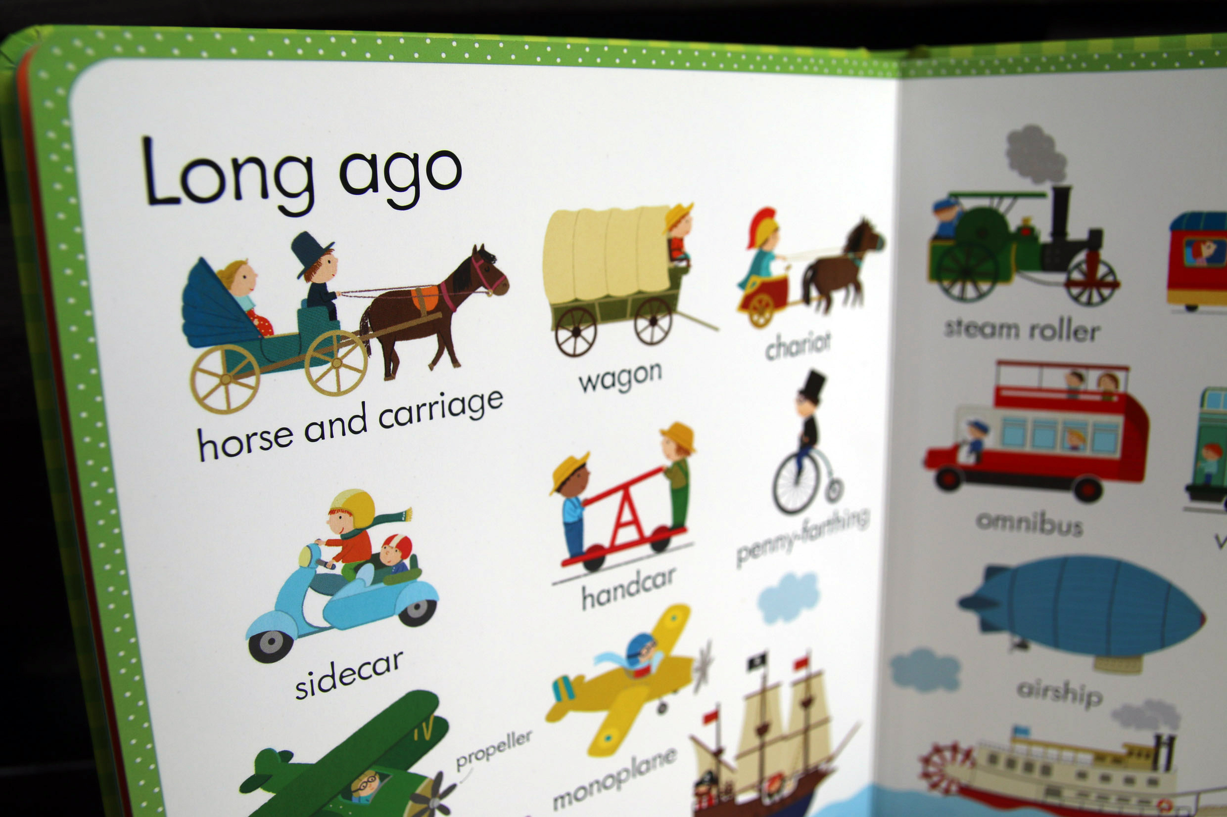My First Word Book about Thngs That Go, Usborne
